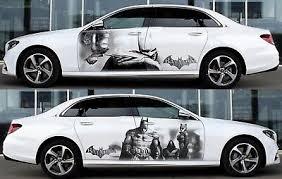 Batman Catwoman Car Door Body Graphics Vinyl Sticker Decal Both Side Ebay