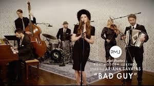 Bad Guy - Billie Eilish (Tango Style Cover) ft. Ariana Savalas - YouTube