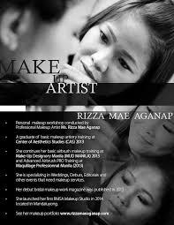 rizza mae aganap makeup artistry