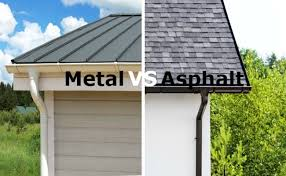 metal roofs vs shingles which roofing