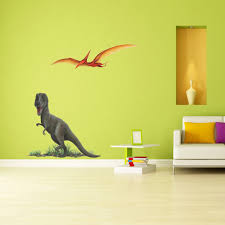 Giant T Rex Wall Sticker Learn How To Create A Dinosaur Themed Room