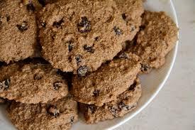 cinnamon raisin shredded wheat cookies