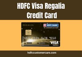 hdfc regalia credit card hdfc bank
