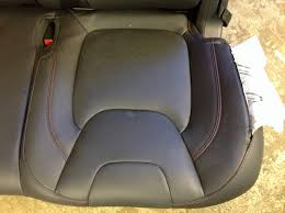 should we not resew backseats either