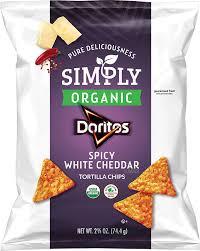 organic y white cheddar flavored