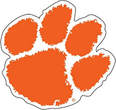 Amazon Com Craftique Clemson Tigers Decal Orange Paw 3 In 4 In 6 In 12 In 18 In 3 In Automotive