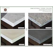 single sink eased edge countertops w