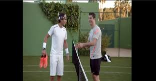 Watch: When Rafael Nadal And Cristiano Ronaldo Played Foot-Tennis ...