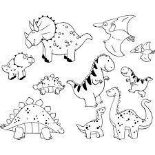 Dino Kleurplaat Dinosaurussen Kleurplaten Dinosaurus