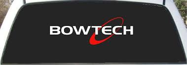 Amazon Com Bowtech Bows 2 Color Hunting Custom Made Window Decal Sticker 9 X 24 Everything Else