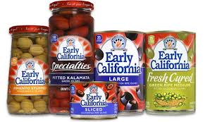 early california olives nutritional