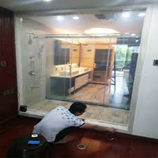 electric tinting glass opaque