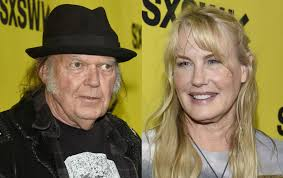Neil Young confirms his marriage to Daryl Hannah in a message ...