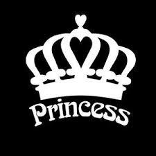 Princess Crown Window Decal Sticker Custom Sticker Shop