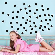 Amazon Com Fundiscount Polka Dot Wall Decals 2 Inch 200 Decals Easy To Peel And Stick Removable Vinyl Dots Decor Large Paper Sheet Round Circle Art Wall Stickers For Baby Nursery