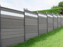 Wood Plastic Fence Panel Design For Backyard Composite Fence Grey Color For Pool Garden Fence Panels Fence Panels Fence Design