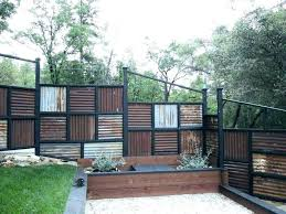 15 Most Attractive Corrugated Metal Fence Inspirations For Amazing Exterior Jimenezphoto