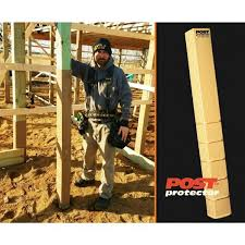 Post Protector 6 In X 6 In X 42 In In Ground Post Decay Protection 6642 The Home Depot