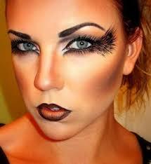 dark angel halloween makeup fallen