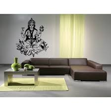 Shop Lakshmi Hindu Goddess Beauty Girl Wall Art Sticker Decal Overstock 11371936