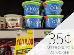 dannon oikos greek yogurt just 35 at