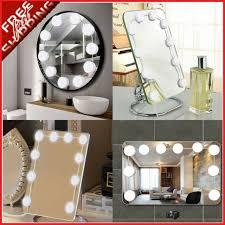kit makeup led bulb hollywood glamour