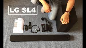 Mua Loa thanh soundbar LG 2.1 SL4 300W giá rẻ 1.999.000₫