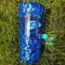 3d Dragon Scale Tumbler With Eye Decal All Bubbles No Troubles Llc