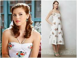 Kaitlyn Black in Leifsdottir Dress - Seen On Hart of Dixie