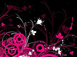 pink and black wallpapers group 77