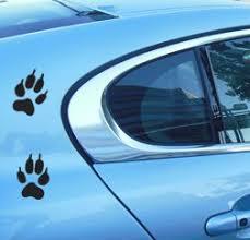 Wolf Paw Print Sticker Decal Actual Siz Buy Online In Bahamas At Desertcart