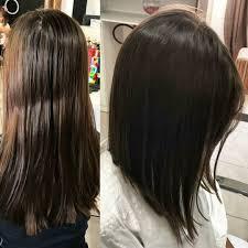 Fryzura Bob Ombre 50 Zdjec Long Krotki Brunette Hair Styles