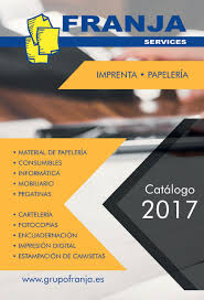 Calameo Catalogo General 2017 Grupo Franja