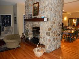 love the two sided fireplace picture