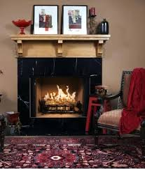 black marble fireplace surround antique