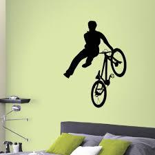 Shop Bmx Vinyl Wall Art Decal Sticker Overstock 10577941