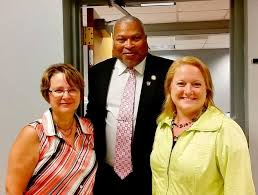 Addie Jenne Press Releases: Addie Russell joins Commissioner Roberts at  Jefferson County Department of Social Services