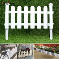 White Pvc Plastic Fence European Style For Garden Driveway Gates Christmas Tree Shopee Philippines