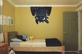 Toothless How To Train Your Dragon Movie 3d Wall Decal Sticker How Train Your Dragon How To Train Your Dragon 3d Wall Decals