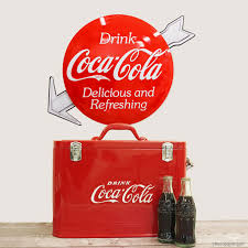 Vintage Style Coca Cola Signs And Wall Decal Sets