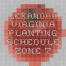 planting schedule zone 7