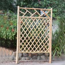diy outdoor bamboo fence for garden