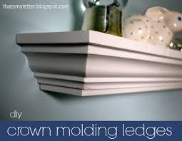 diy crown molding ledges jaime costiglio