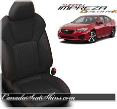 2019 subaru impreza dealer pak leather