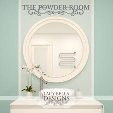 The Powder Room Vinyl Wall Decal Bathroom Door Or Wall Home Decor Lettering Vinyl Wall Decals Bathroom Vinyl Vinyl Wall