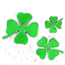 Sports Outdoors Bumper Stickers Gt Graphics Four Leaf Clover Vinyl Sticker Waterproof Decal