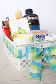 perfect get well gift basket