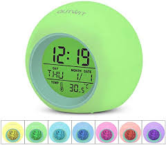 Red House Alarm Clock For Kids Room This Cool Looking Alarm Clock House Design 3 Colors Bedside Clock For Boys Or Girls Bedroom Home Decor Home Decor