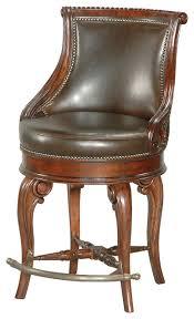tatum swivel counter stool dark