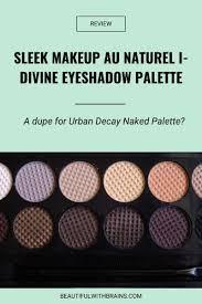 au naturel i divine eyeshadow palette